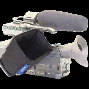 Camera monitor hoods